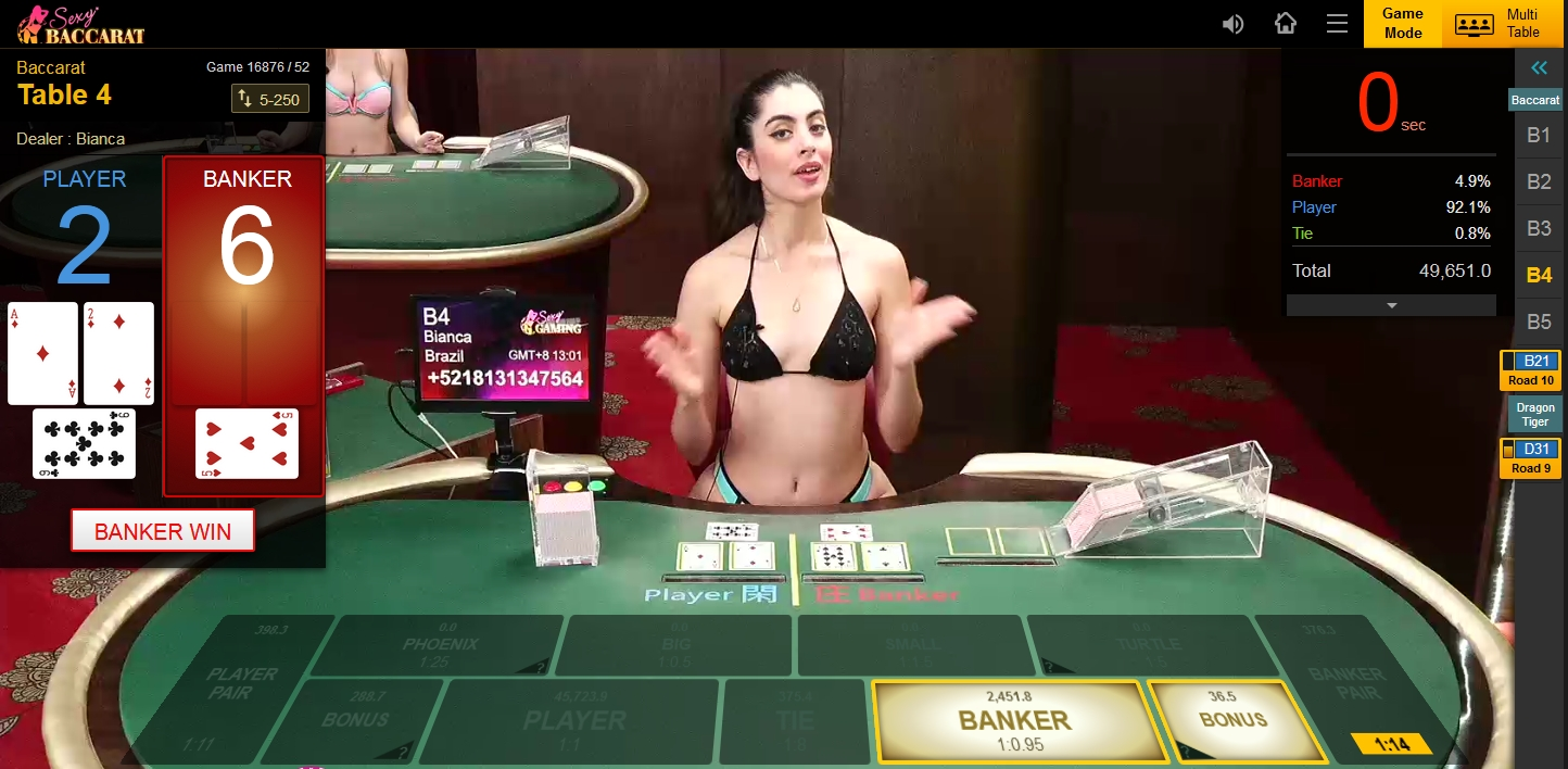 SEXY BACCARAT Casino Online - Asiabetking.id